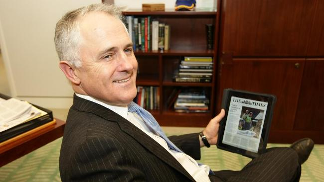Turnbull wonders why his self-written obituary didn't make the front page of The Times.