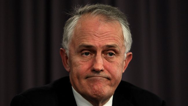 Malcolm Turnbull: Overjoyed at the prospect of spending the next 35 years of his life as Minister for Communications.